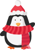 Penguin with hat